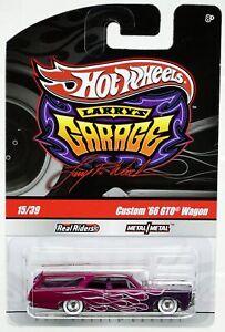 Hot Wheels Custom '66 GTO Wagon Larry's Garage #R3783 New NRFP 2009 Purple 1:64