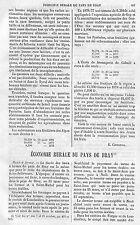 """"""" ECONOMIE RURALE DU PAYS DE BRAY NORMANDIE """" ADP DE GUSTAVE ROBERT 1880"""