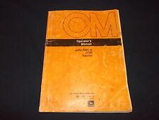John Deere 2750 Tractor Operation & Maintenance Manual Book