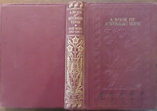 A Book of Australian Verse - Edited by Bertram Stevens - No Date - Children's