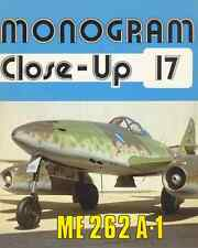 AERONAUTICA AIRCRAFT Monogram Close Up 17 Messerschmitt Me262A1 - DVD