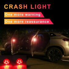 2Wireless LED Door Open Warning Anti Collid Signal Flash Light For Car Truck Red