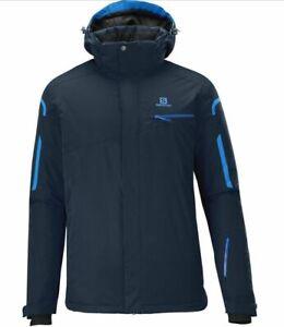 Salomon Supernova Mens Ski Snowboard Jacket Insulated Winter Snow Coat 10K R£220