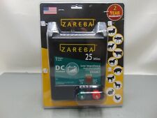 Zareba Edc25m Z 25 Mile Battery Operated Low Impedance Electric Fence Charger