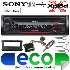 Ford Focus 07-11 Sony CDX-G1200U CD MP3 USB Aux In Iphone Car Radio Stereo Kit