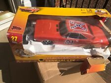Dukes of Hazzard General Lee 1969 Dodge Charger Rc 1:10 27mhz Damaged Open Box