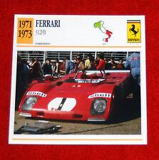 1971-73 Ferrari 312PB Compitizione  - Edito-Service, SA collector card