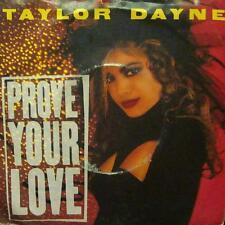 "Taylor Dayne(7"" Vinyl P/S)Prove Your Love-109830-UK-VG/Ex"