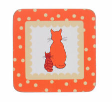 New Cats in Waiting Coasters by Ulster Weavers