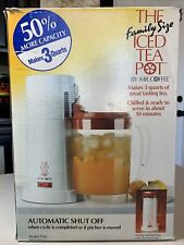 Mr. Coffee Iced Tea Pot Maker FAMILY SIZE 3 quart - Red TM3 1991 - NEW Open Box
