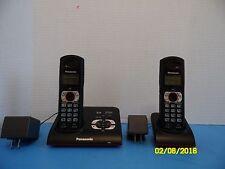 Panasonic KX-TG9372B Expandable Digital Cordless Answering System Phone