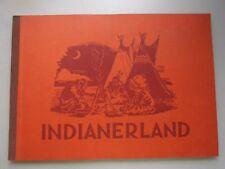 Sammelbilderalbum Indianerland 1952 Kauka Verlag München