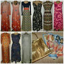 New listing 👗👜🧣Vintage Mixed Lot: Dresses Loungewear Usa Resale/Other Bonus