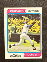 1974 Topps Billy Williams Card #110 EX-NM Chicago Cubs HOF