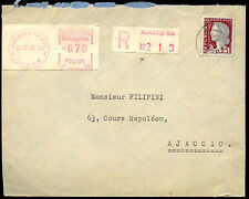 France 1962 Registered Cover #C38758