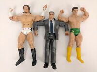 Set of 3 Jakks Pacific Serie Action Figure Vince McMahon Superstar WWE 2003-5