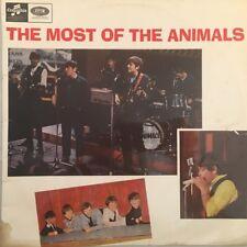 "THE ANIMALS - Most of The Animals - 12"" Vinyl LP Record (Columbia) AUS MONO 1965"