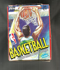 1989-1990 FLEER BASKETBALL WAX BOX 36 COUNT