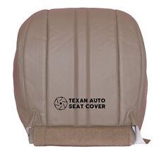 2003 - 2005 GMC Savana 1500 Van, Cargo Van Driver Bottom Vinyl Seat Cover Tan