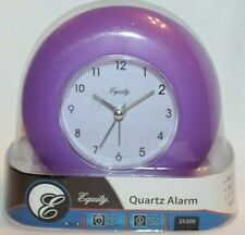 Equity Purple Quartz Alarm Clock