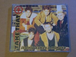 Take That ‎: It Only Takes A Minute - CD Single (1992, RCA)