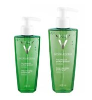 Vichy Normaderm 400-200 ml -Facial Deep Cleansing Purifying Gel -Acne Prone Skin
