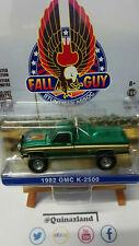 Greenlight Hollywood Fall Guy 1982 Gmc K-2500 Chase green   (NG67)