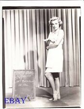 Marilyn Monroe costume test barefoot RARE Photo