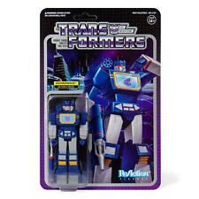 Transformers Soundwave Decepticon 3 3/4 Inch ReAction Wave 1 Figur Super7