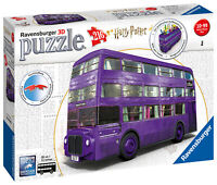11158 Ravensburger Harry Potter Knight Bus 3D jigsaw Puzzle 216pc Age 10 Years+