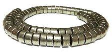 Pyrit große Räder / Heishi-Perlen ca. 5x10 mm Edelstein-Perlen Strang PYRI-16