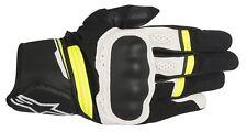 Alpinestars Booster Handschuhe Gr. s schwarz weiß gelb