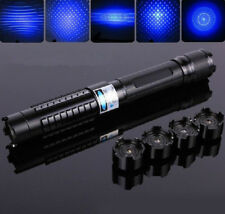 THOR High Powerful Military adjustable focus 450nm Blue Laser Pointer Pen  BH6-A