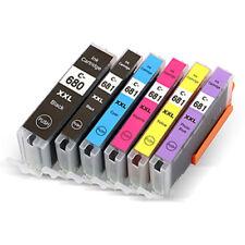 6x Compatible Ink Cartridges Pgi-680xxl Cli-681xxl for Canon Pixma Tr7560 Ts6160