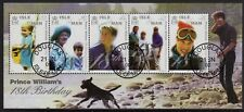 Isle of Man 2000 Prince William min. sheet very fine used