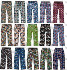 Mens Character Lounge Pants Pyjama Bottoms Pj's Pyjamas Nightwear Adults S - XL