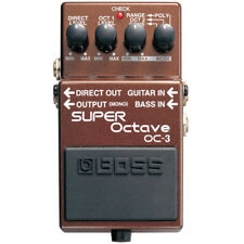 BOSS OC-3 SUPER OCTAVE GUITAR EFFECTS PEDAL OCTAVER w/ Free Pick