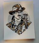 Tyler Stout Handbill Print Pros Cons Series VI - Predator Blaine Jesse Ventura