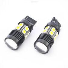2pcs T20 7440 6000K White 25W High Power 12-SMD LED Light Backup Reverse Light