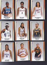 2008 WNBA RC Lot of 15 Different Cards RC4-RC18 #/444