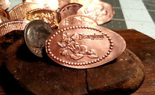 Storming Donald Duck - Disneyland - Golf Ball Marker Pressed copper Penny