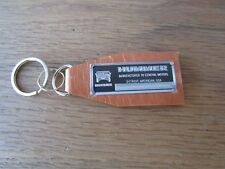 Hummer Leather Data Plate Keychain H1 H2 H3
