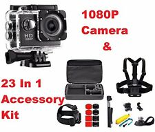 Full Hd 1080P Underwater Go Sports Action Camera Dv Pro Camcorder & Accessories