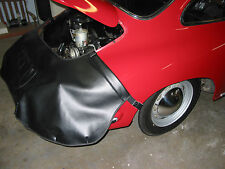 Porsche 356 rear fender cover for engine work