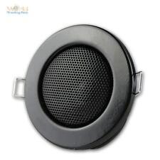 Haut-Parleur,Design Halogène Noir,Encastré: 60mm,Haut-Parleur Encastrable Mini-