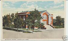 METHODIST CHURCH, GARDEN CITY, KANS. KS. KANSAS.