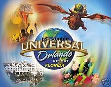 Florida UNIVERSAL STUDIOS collage - Travel Souvenir Flexible Fridge Magnet