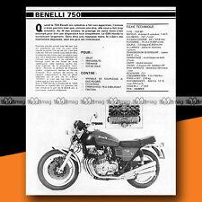 ★ BENELLI 750 SEI ★ 1979 Essai Moto / Original Road Test #a262