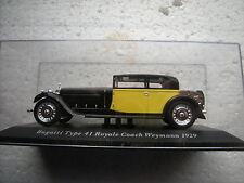 1/43 BUGATTI TYPE 41 ROYALE COACH WEYMANN 1929