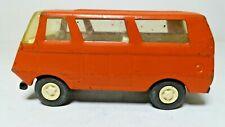 70's Vintage Tonka Red/Orange Van Bus; USA VW or Econoline Style